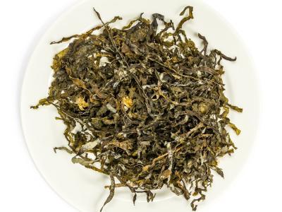 """Japonská """"kombu-cha"""" aneb čaj z mořské řasy kombu"""