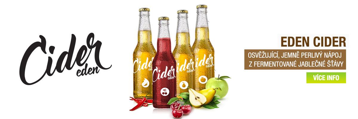 Ochutnejte přírodní Cide EDEN!